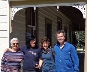 Board Members at Scott Homestead on 13 October