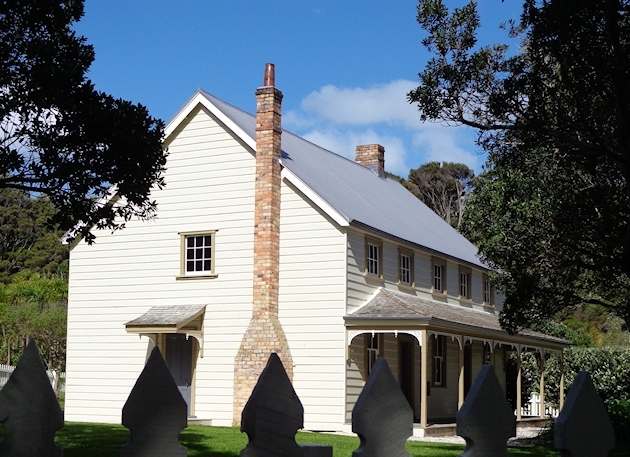Scott Homestead photographed on 13 October 2012 by Allan Matson