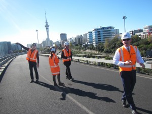 Around the table to progress Nelson St off-ramp pilot
