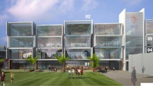 The proposed $30millon replacement for the Hanna Block